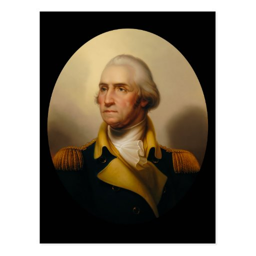 Portrait of George Washington Postcard