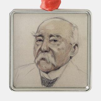 Portrait of Georges Clemenceau Christmas Ornament