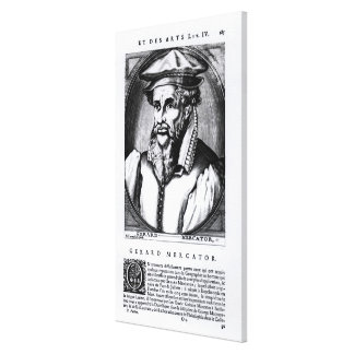 Portrait of Gerard Mercator Canvas Print