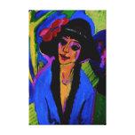 """Portrait of Gerda"" Masterpiece c1914 Gallery Wrapped Canvas"
