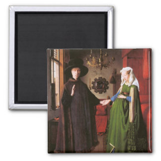 Portrait of Giovanni Arnolfini and his Wife Magnet