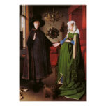 Portrait of Giovanni Arnolfini and his Wife Poster