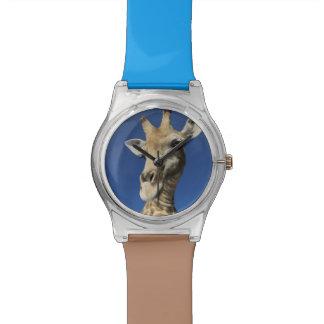 Portrait of Giraffe (Giraffa Camelopardalis) Watch