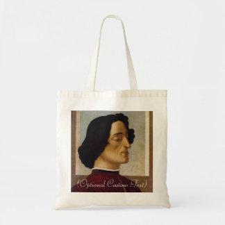 Portrait of Giuliano de Medici Canvas Bag