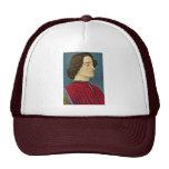 Portrait Of Giuliano De 'Medici By Botticelli Sand Trucker Hat