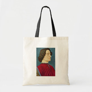 Portrait Of Giuliano De 'Medici By Botticelli Sand Tote Bags