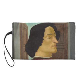 Portrait of Giuliano de Medici by Botticelli Wristlets