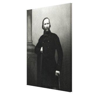 Portrait of Giuseppe Garibaldi Canvas Print