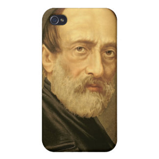 Portrait of Giuseppe Mazzini iPhone 4 Cover