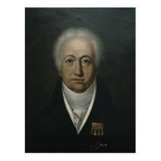 Portrait of Goethe, 1816 Postcard