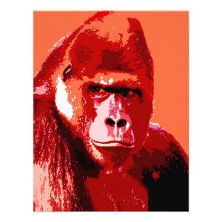 Portrait of Gorilla Announcements