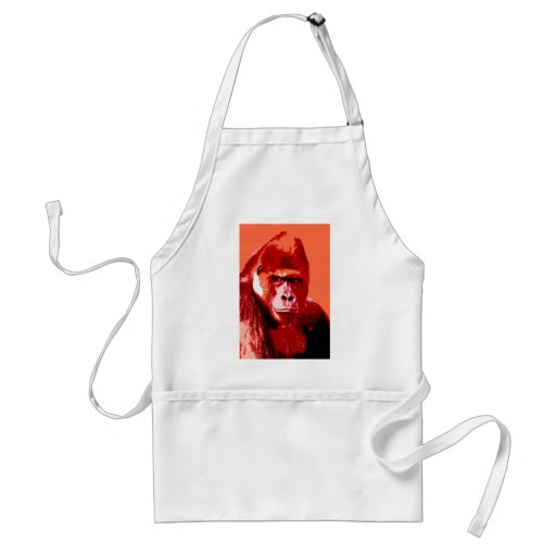 Portrait of Gorilla Aprons
