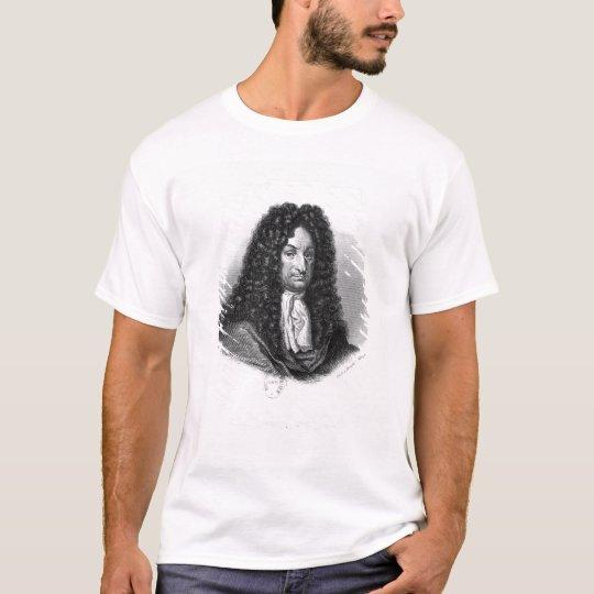 Portrait of Gottfried Wilhelm Baron de Leibniz T-Shirt