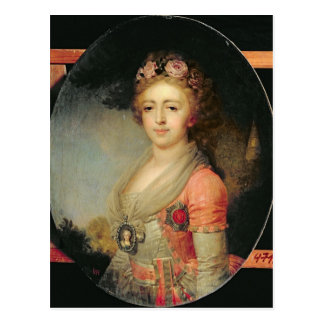 Portrait of Grand Duchess Alexandra, c.1798 Postcard
