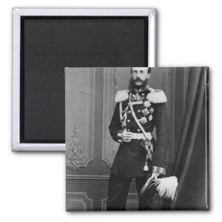 Portrait of Grand Duke Michael Nikolaevich Square Magnet