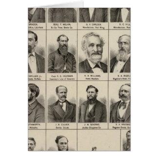 Portrait of Greenleaf, Minnesota Card