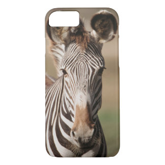 Portrait of Grevy's Zebra iPhone 7 Case