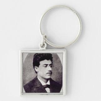 Portrait of Gustav Mahler, 1878 Key Ring