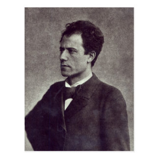 Portrait of Gustav Mahler, 1897 Postcard