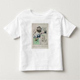 Portrait of Gustave Courbet (1819-77) illustration Toddler T-Shirt