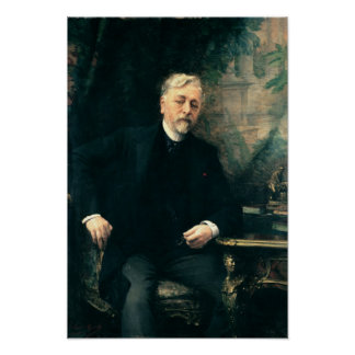 Portrait of Gustave Eiffel  1905 Poster