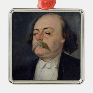 Portrait of Gustave Flaubert  1868-81 Christmas Ornament