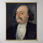 Portrait of Gustave Flaubert  1868-81 Poster