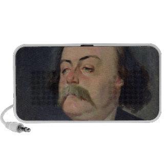 Portrait of Gustave Flaubert  1868-81 Laptop Speaker