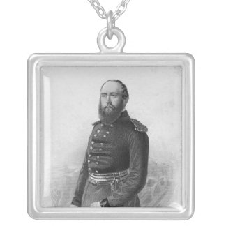 Portrait of H.R.H. The Duke of Cambridge Silver Plated Necklace