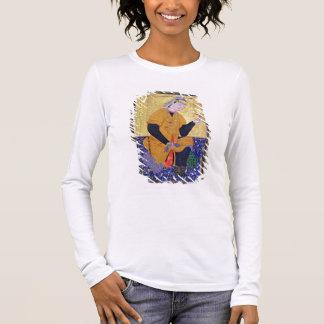 Portrait of Hamida Banu Begum, holding a seal, ill Long Sleeve T-Shirt