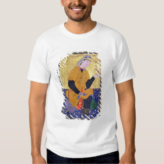 Portrait of Hamida Banu Begum, holding a seal, ill Tees