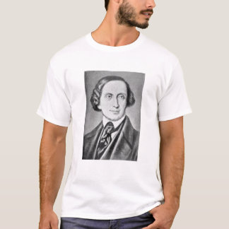 Portrait of Hans Christian Andersen 2 T-Shirt