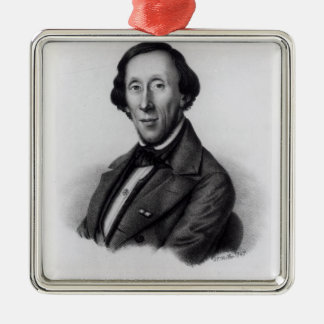 Portrait of Hans Christian Andersen Christmas Ornament