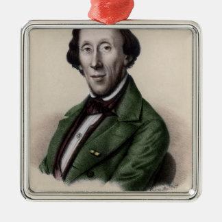 Portrait of Hans Christian Andersen Christmas Ornament