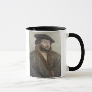Portrait of Hans Holbein (1497/8-1543) engraved by Mug