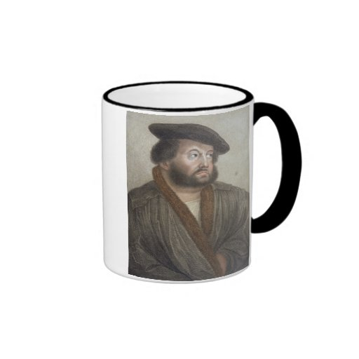 Portrait of Hans Holbein (1497/8-1543) engraved by Coffee Mugs