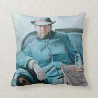 Portrait of Hans Jaeger, 1889 Cushion