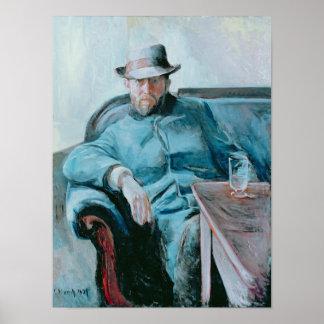 Portrait of Hans Jaeger, 1889 Poster