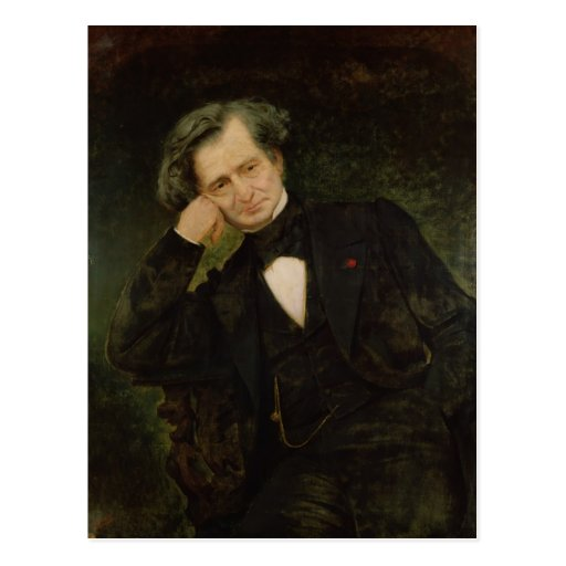 Portrait of Hector Berlioz Postcards