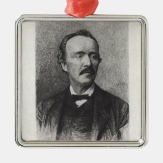 Portrait of Heinrich Schliemann Christmas Ornament