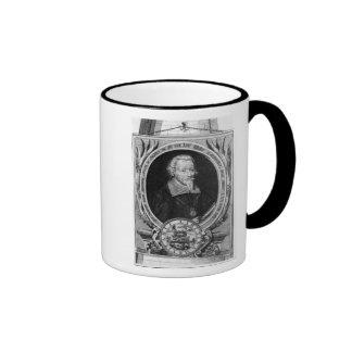 Portrait of Heinrich Schutz Ringer Coffee Mug