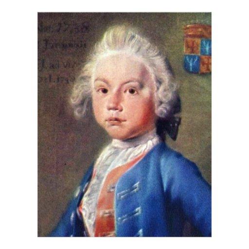 Portrait Of Hendrick Fabricius,  By Tako Hajo Jelg 21.5 Cm X 28 Cm Flyer