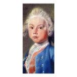 Portrait Of Hendrick Fabricius,  By Tako Hajo Jelg Rack Card