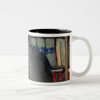 Portrait of Henri Cordier Two-Tone Coffee Mug