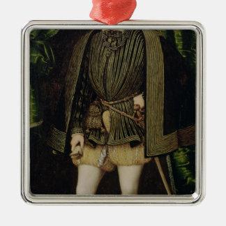 Portrait of Henri II Christmas Ornament