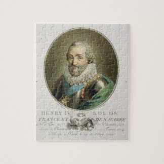 Portrait of Henri IV, King of France and Navarre ( Puzzle