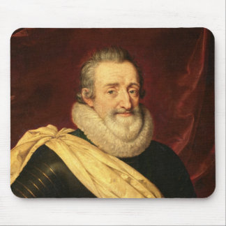 Portrait of Henri IV  King of France Mouse Pad