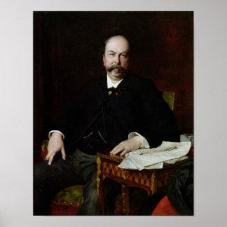 Portrait of Henri Meilhac Poster