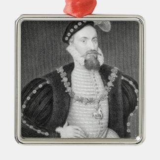 Portrait of Henry Grey Christmas Ornament