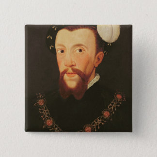 Portrait of Henry Howard, 1546 15 Cm Square Badge